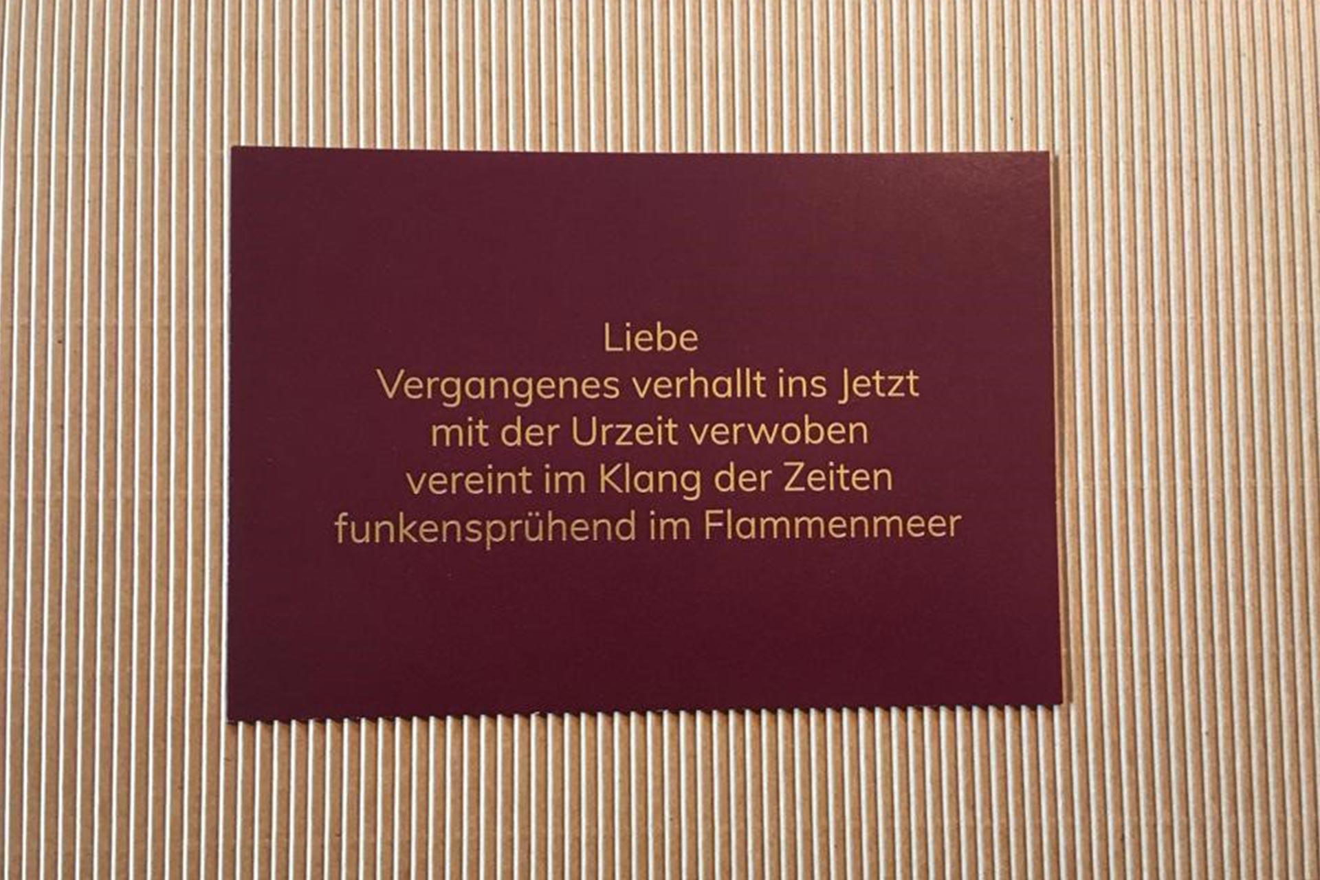 Lyrikkarte Gedichte Von Gabi Heiler